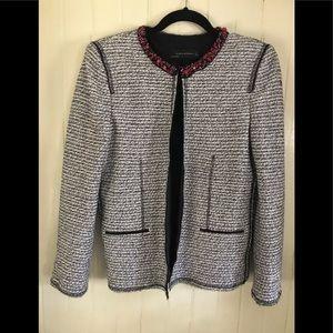 Zara Jacket. Sparkle & beads L Dress up/down